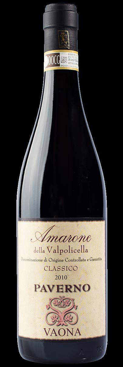 Amarone Valpolicella Classico PAVERNO DOC 2013