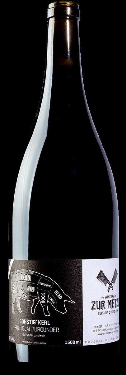 Borstig' Kerl Rot Pinot Noir Zürich AOC Magnum 2014