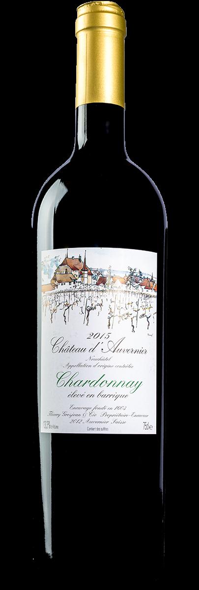 Chardonnay Barrique Neuchâtel AOC 2015