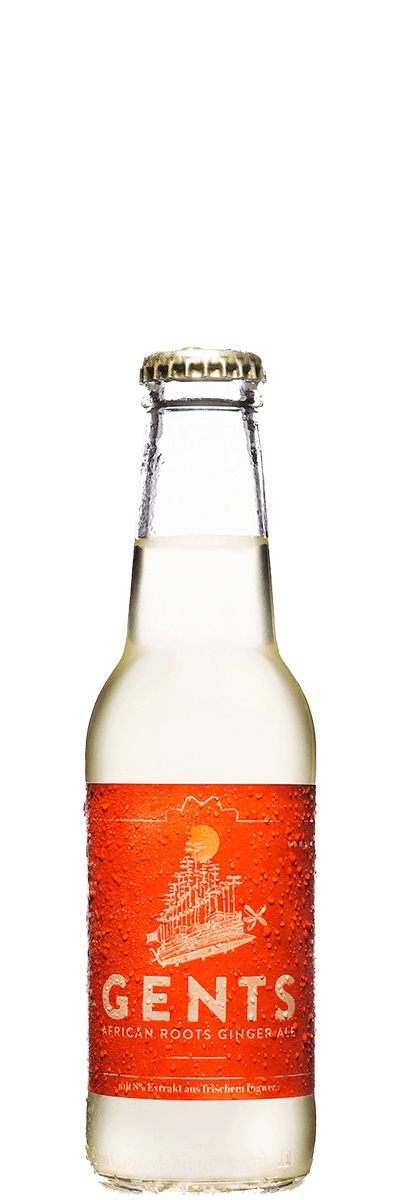 Gents African Roots Ginger Ale
